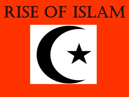 Rise of Islam. Where arabia Before Islam arrived The people of Arabia known as Arabs believed in many gods. They had contact with monotheism.