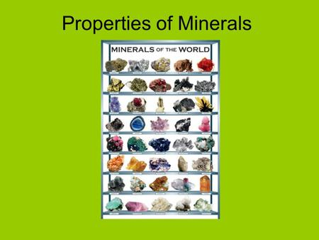 minerals are solid inorganic substances of Solids - organic & inorganic solids suspended solids can be very fine particles of minerals and dead algae cells inorganic and organic substances suspended in a body of water in a molecular, ionized or micro-granular (colloidal) form.