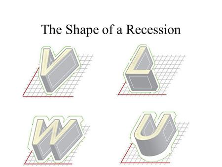 The Shape of a Recession. Big Questions How are we doing? (Yes, again) Why do recessions happen? How does the government affect the economy (and you and.