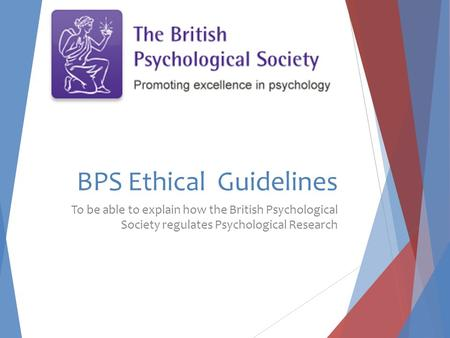 BPS Ethical Guidelines