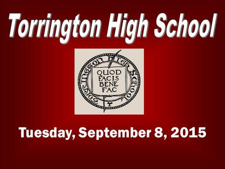 Tuesday, September 8, 2015. LATE BUS Starting Sept. 9 th, the late bus is available Tuesday and Wednesday afternoons. For more info please contact any.