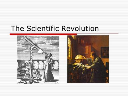 the scientific revolution s impact on western
