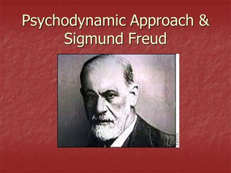 Methods used by Psychodynamic Approach Explain and evaluate the     little hans case study freud