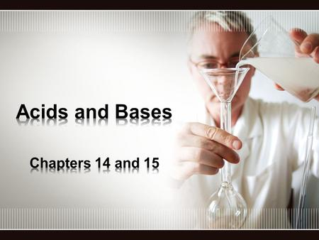 Acids –Sour Taste –Change the color of an acid-base indicator –React with metals to form H 2 gas –React with bases to produce salts and water –Conduct.