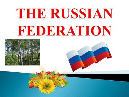  Total area of Russia is about 17 000 000 square kilometres.  The population is about 145 000 000 people.
