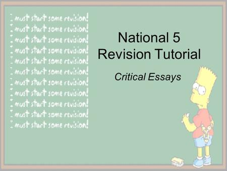 int 1 english critical essay questions A critical essay is a form of academic english grammar glossary of characteristics of a critical essay critical essays are written across many academic.