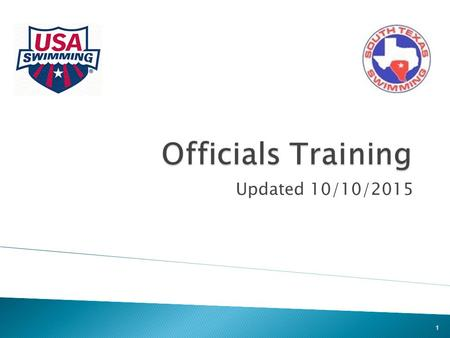 Updated 10/10/2015 1.  Introduction to Officiating  Certification Process  Technical Rules  Logistics and Other Information  UIL Differences 2.