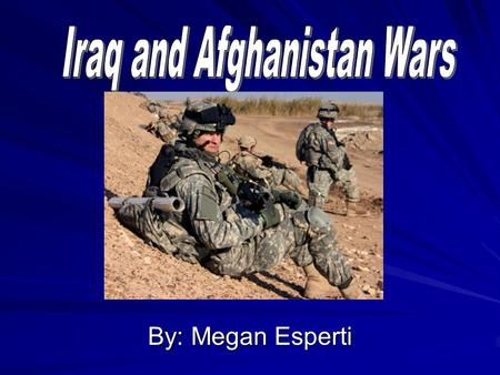 By: Megan Esperti. Iraq: –4,352 U.S. Troop Casualties –124,000 U.S. Troops in Iraq since 9/30/09 –31,529 U.S. Troops wounded. (20% serious brain or spinal.