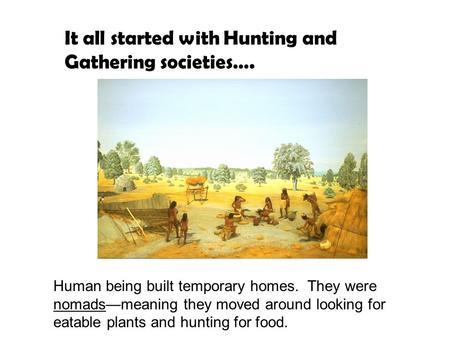 from hunting and gathering to civilizations From hunting and gathering to civilizations harvard case study solution and analysis of harvard business case studies solutions – assignment helpin most courses studied at harvard business schools, students are provided with a case study.