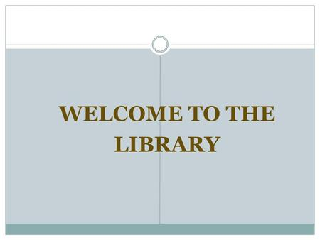 WELCOME TO THE LIBRARY. Meet Mrs. Lundberg I live in Mill Creek. I have 3 grown children.  Sarah  Ben  Ashleigh I've been married to my husband for.