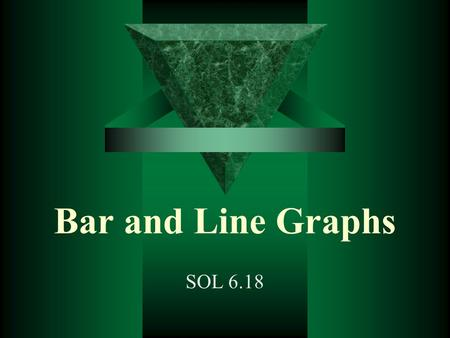 Bar and Line Graphs SOL 6.18. Bar Graphs Length of Pieces of Rope A bar graph is used to compare data. Vertical Axis Horizontal Axis.