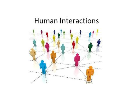 Human Interactions. What is an Ethnic Group? A group of people who share language, customs and a common heritage.