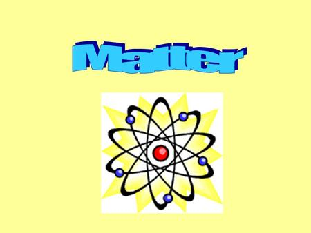 Aim: What is matter? I. Matter – anything that has mass and volume. A. Atoms - A unit of matter, the smallest unit of an element, having all the characteristics.