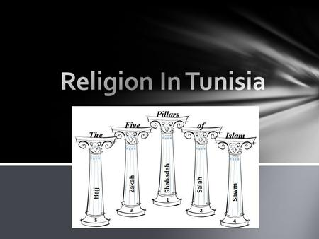 Ninety-nine percent of Tunisians are Muslim. Most of them are Sunni. Shiites are the second-largest group. The Shiites split from the Sunnis in 632 when.