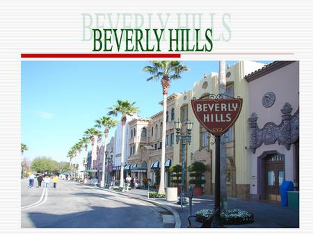 IIt is a neighborhood in Los Angeles- California AA few minutes drive away from Hollywood.