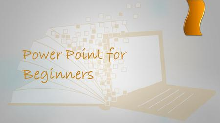 Power Point for Beginners Overview  What is Power Point?  Slides  Design  Transitions  Animations  Sound effects  Tips for a great presentation.