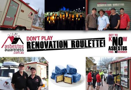 2 Don't Play Renovation Roulette' & Asbestos Awareness Month is a public awareness campaign to educate homeowners about the dangers of asbestos.