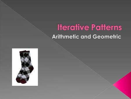 Arithmetic and Geometric