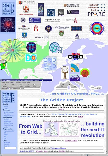 …building the next IT revolution From Web to Grid…