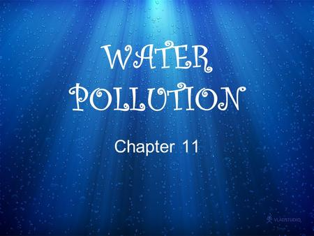 WATER POLLUTION Chapter 11. Where does the pollution come from? Point source = single, identifiable source -can you point your finger at the polluter?