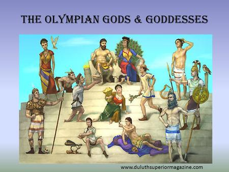 The Olympian Gods & Goddesses