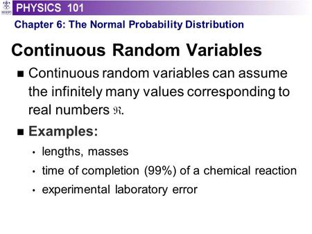 Chapter 4 part2 random variables.