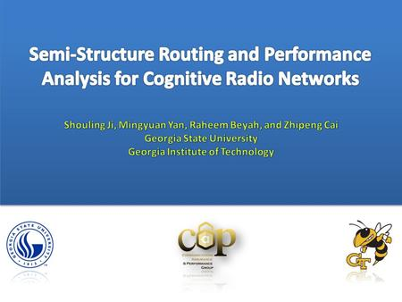 4 Introduction 1 2 3 5 Semi-Structure Routing Framework System Model Performance Analytical Framework Simulation 6 Conclusion.