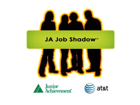 Why job shadow Career Readiness…you never know what is out there unless you go take a look!
