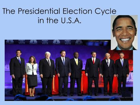 The Presidential Election Cycle in the U.S.A.. Something to Consider… Which do you value more? democracy or freedom of speech How are elections a test.