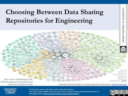 Choosing Between Data Sharing Repositories for Engineering Linking Open Data cloud diagram, by Richard Cyganiak and Anja Jentzsch.