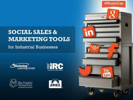 SOCIAL SALES & MARKETING TOOLS for Industrial Businesses.