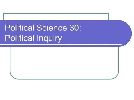 Political Science 30: Political Inquiry. Linear Regression II: Making Sense of Regression Results Interpreting SPSS regression output Coefficients for.