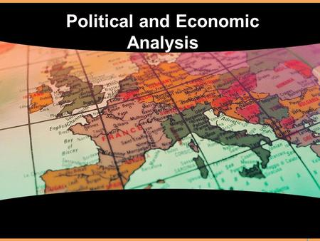 Political and Economic Analysis. What is an Economy? -- Ch 3 Sec. 1 What is meant by the term economy The factors of production The concept of scarcity.