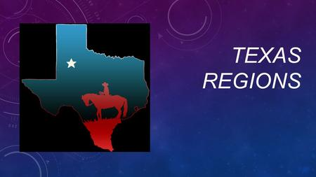 TEXAS REGIONS. CAN YOU NAME THE REGIONS OF TEXAS?