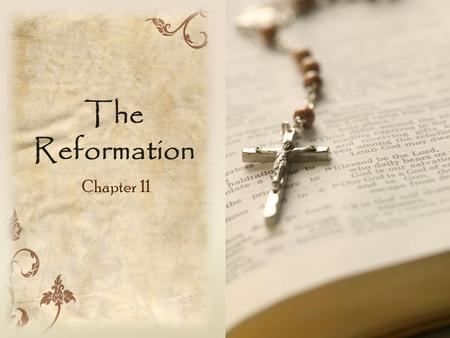 The Reformation Chapter 11.