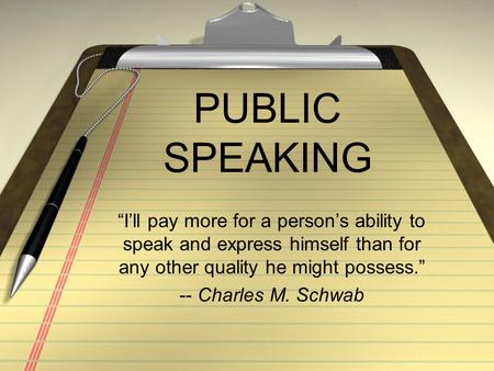 Public speaking an audience centered approach 7th edition