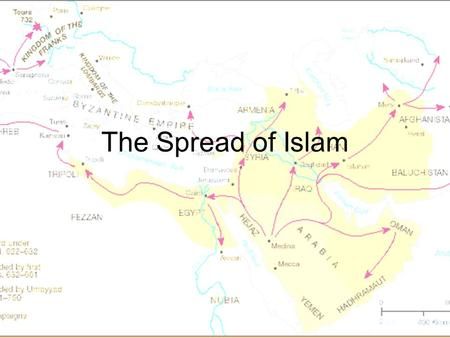 "The Spread of Islam. Rightly Guided The first four successors of Muhammad were called the Rightly Guided Caliphs Caliph – ""Successor"" All related to Muhammad."