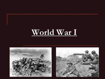 World War I. When was WWI? WWI was a major war centered in Europe that began August 4 th,1914 and lasted until November 11 th, 1918. It involved all of.