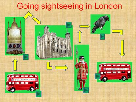 Going sightseeing in London. Watch the video! How many people travel into London every day? When are the shops along Oxford street open? What time does.
