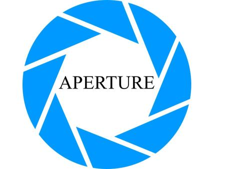 APERTURE. Aperture description… referred to as the opening inside a photographic lens. The size of the opening in a camera lens regulates the amount of.