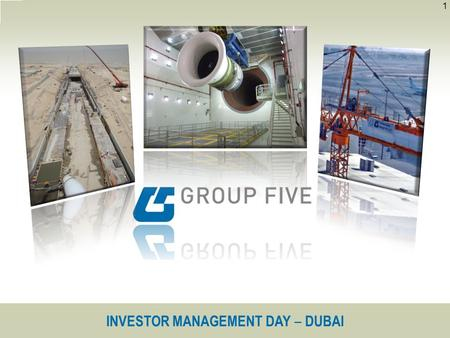 INVESTOR MANAGEMENT DAY ‒ DUBAI 1. 2 Background Strategy OperationsSome current and recently secured contracts.