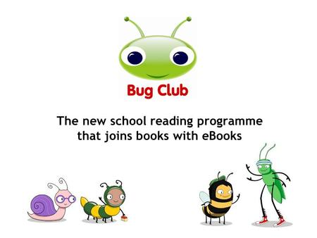 The new school reading programme that joins books with eBooks.