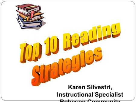 Karen Silvestri, Instructional Specialist Robeson Community College.