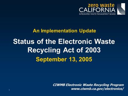 implementing a mandatory recycling program Section iii: how to implement a recycling program in section ii,  mandatory source separation ordinance as much as seventy percent of office waste is paper.