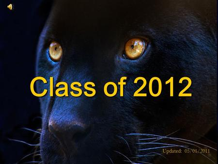 Class of 2012 Updated: 05/01/2011 QRHS Guidance Department Scheduling For Incoming 12 th Graders.