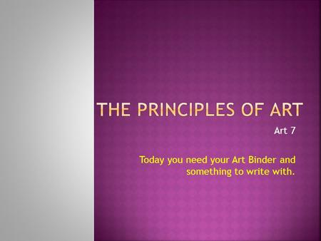 7 Principles Of Design In Art : Principles of design = the organization a work art ppt video
