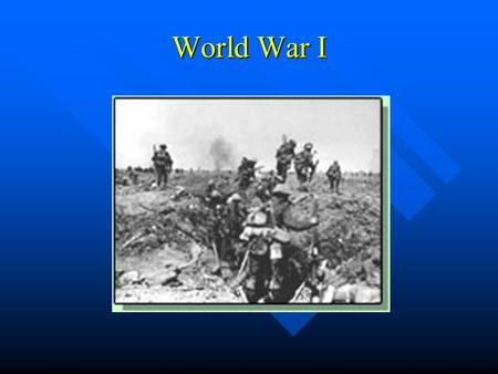 World War I. Underlying Causes of WWI Alliance System Alliance System Militarism Militarism Imperialism Imperialism Nationalism Nationalism.