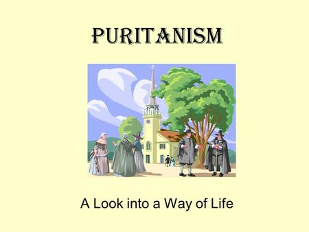 Puritanism A Look into a Way of Life. Key Events 1640 Bay Psalm book published; first book printed in the colonies 1692 Salem witch trials result in 20.