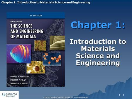 material science and engineering chapter 1 Materials science and engineering chapter mechanical properties of metals   callister summary engineering materials: materials chemistry chapter 1 book.