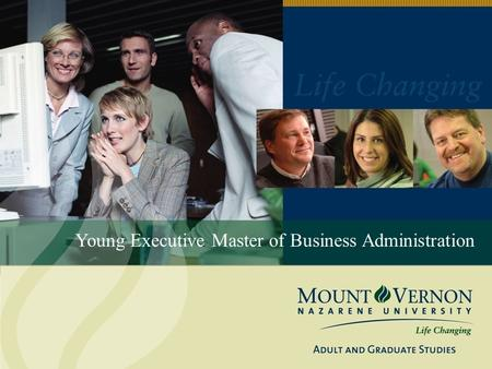 Young Executive Master of Business Administration.